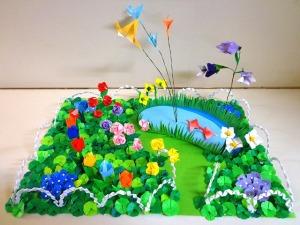 折り紙の花園