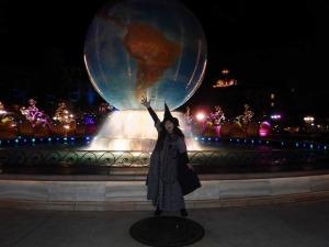 ディズニーランドの魔女