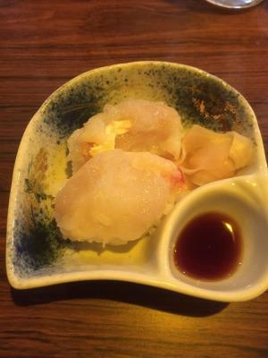 タラバの寿司