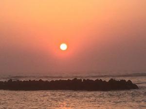 寺泊の夕日