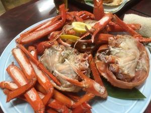 清原屋の蟹