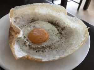 スリランカ朝食の卵