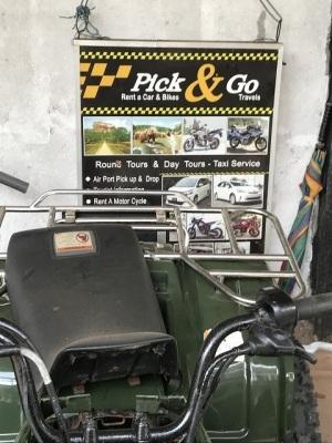 スリランカレンタルバイク屋