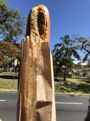 フランスでフランスパン