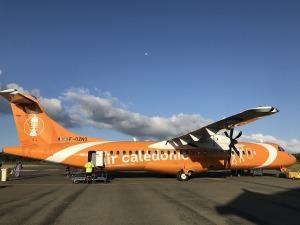 ニューカレドニアの飛行機