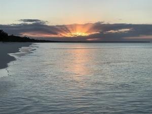 ヌメアの夕日