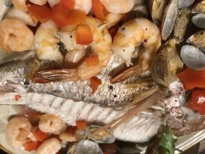 鯛のアクアパッツァ