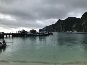 台風一号で船が欠航